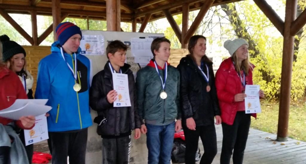 Zwycięscy w klasie Hobie Cat 16 junior